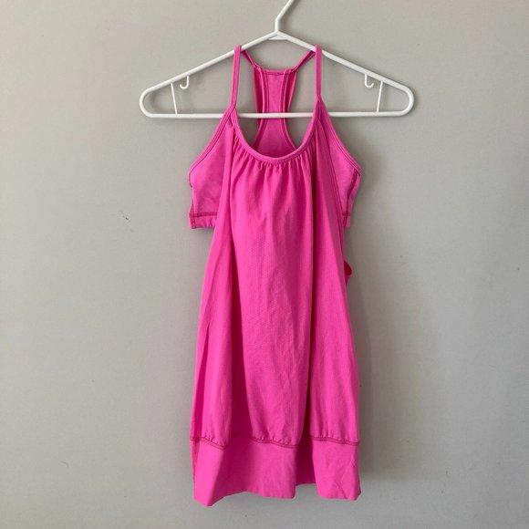 Lululemon Pink Tank Size 4